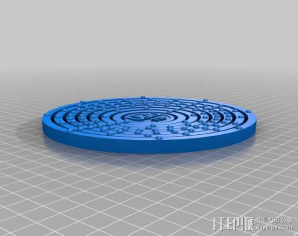 UUO原子模型 3D模型  图3