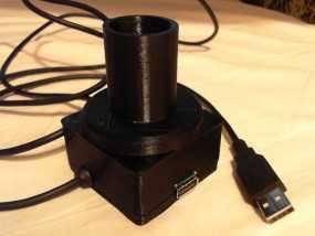 望远镜适配器 3D模型