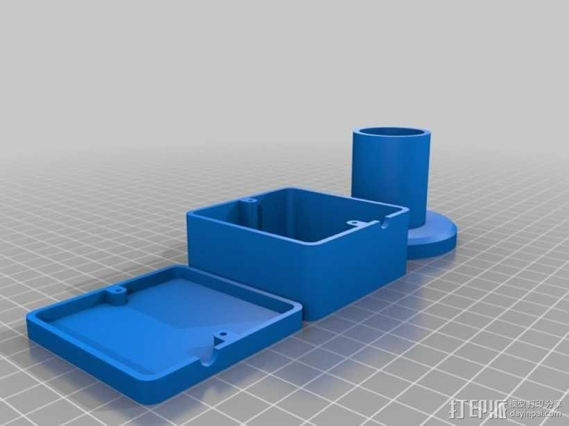 望远镜适配器 3D模型  图5