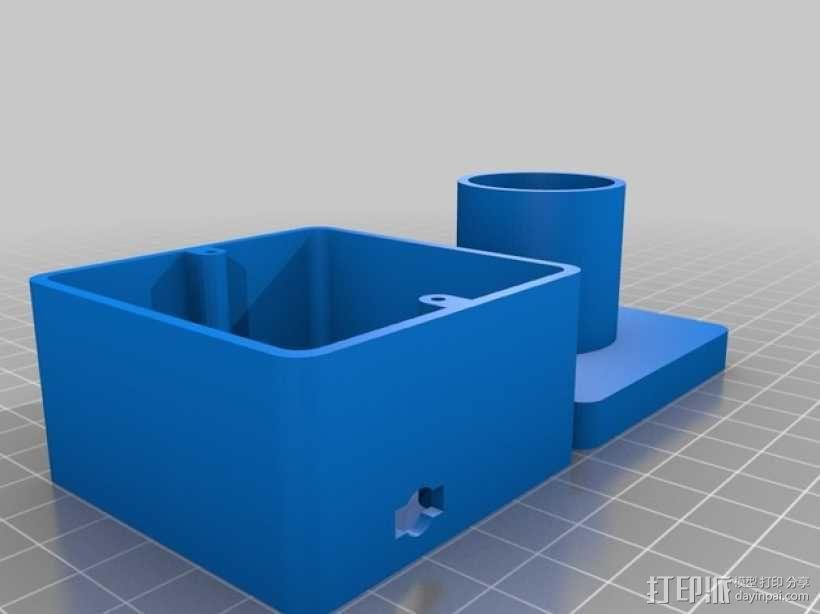 望远镜适配器 3D模型  图3