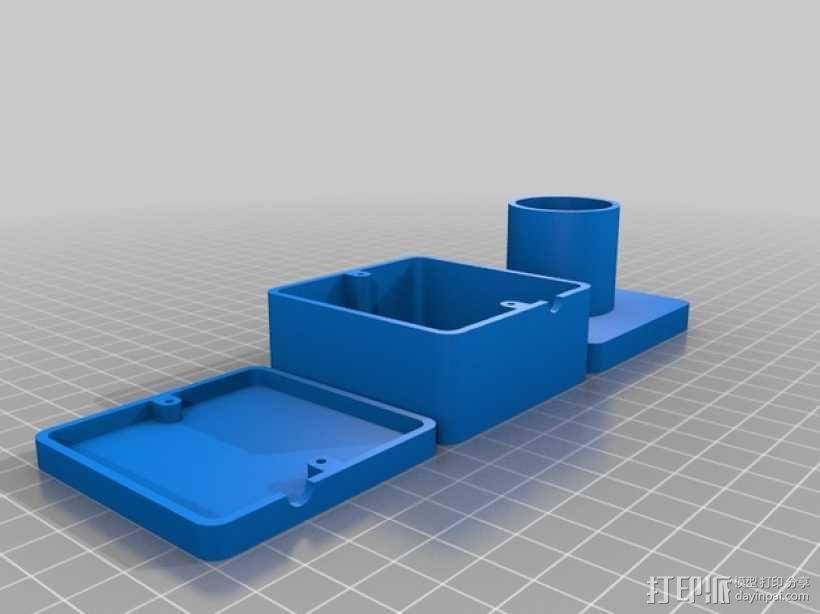 望远镜适配器 3D模型  图4