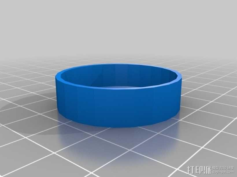 望远镜防尘罩 3D模型  图1