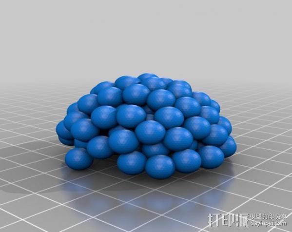 铀核原子模型 3D模型  图4