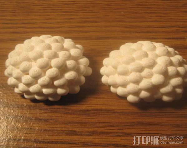 铀核原子模型 3D模型  图3