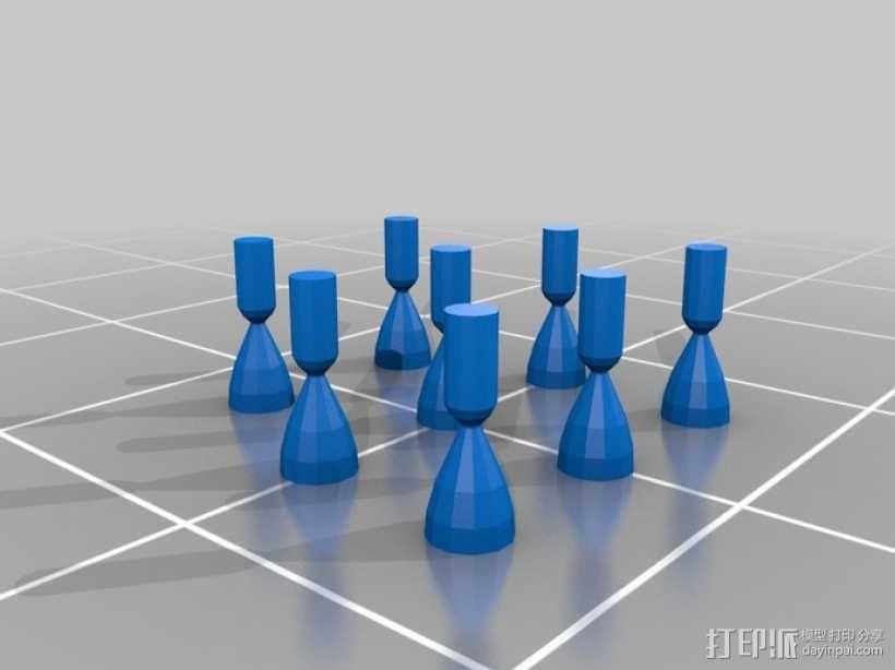 麦哲伦号金星探测器模型 3D模型  图3