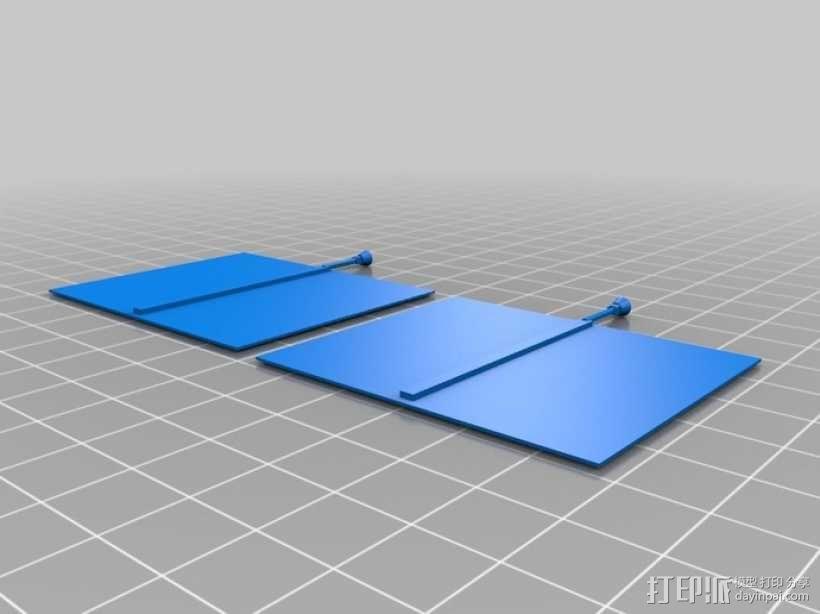 麦哲伦号金星探测器模型 3D模型  图5