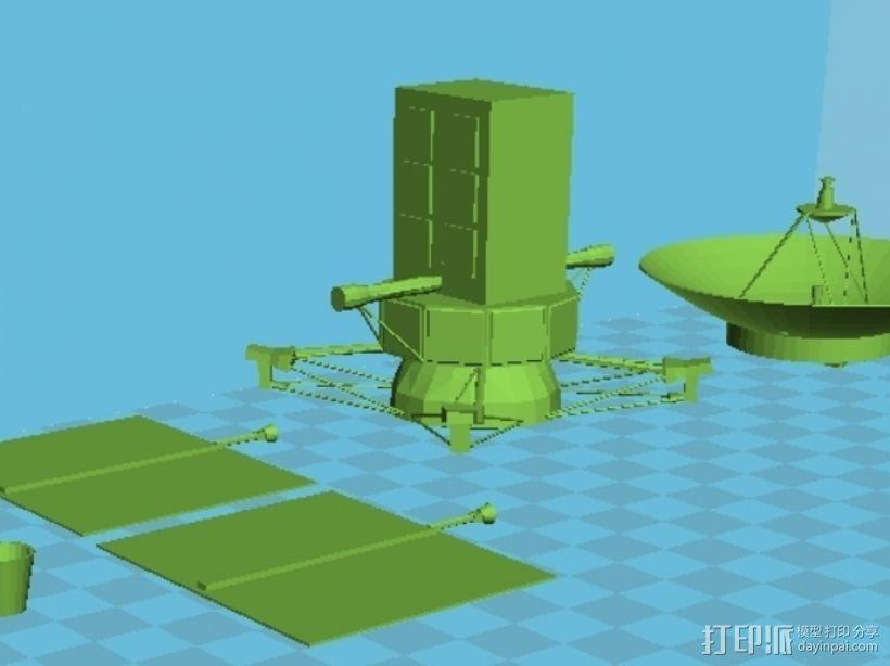 麦哲伦号金星探测器模型 3D模型  图7