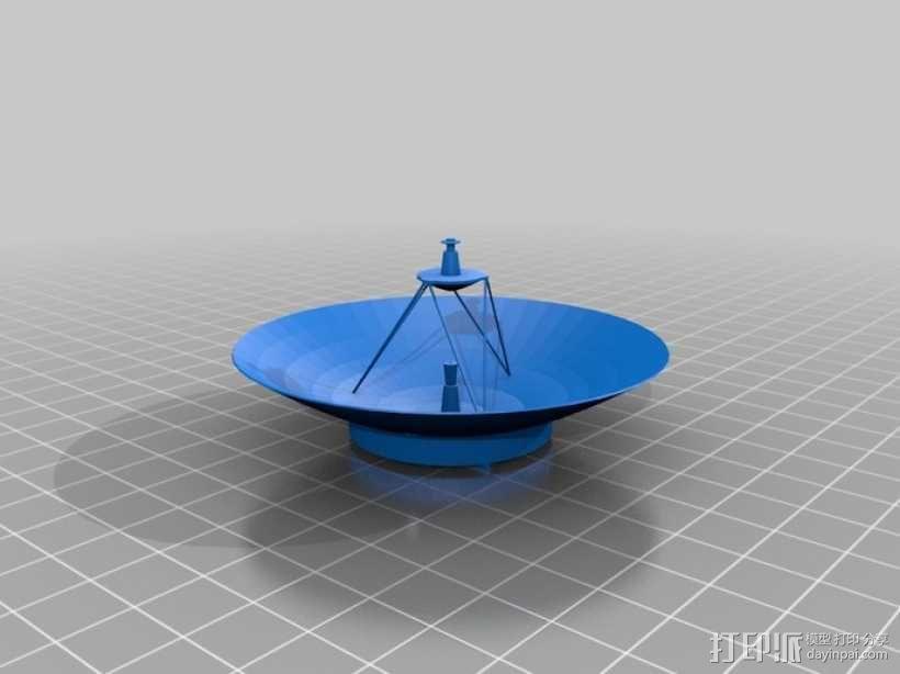 麦哲伦号金星探测器模型 3D模型  图6
