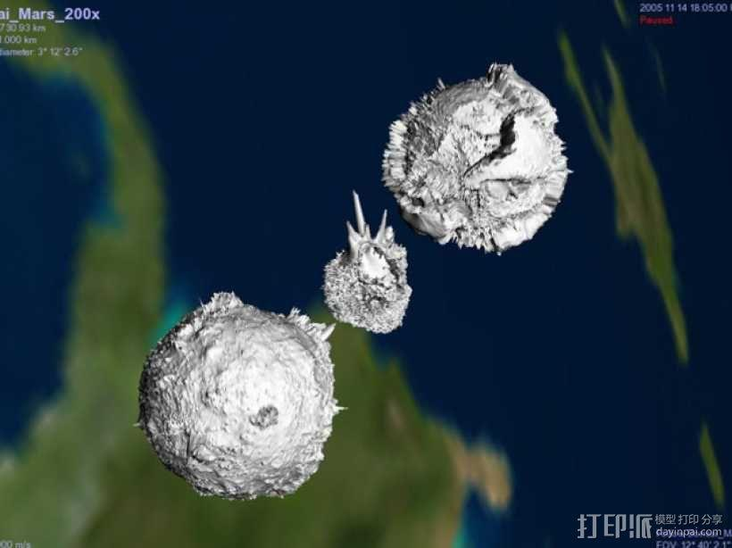 金星模型 3D模型  图5