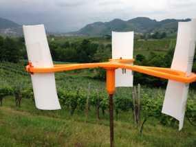 竖轴风车  3D模型