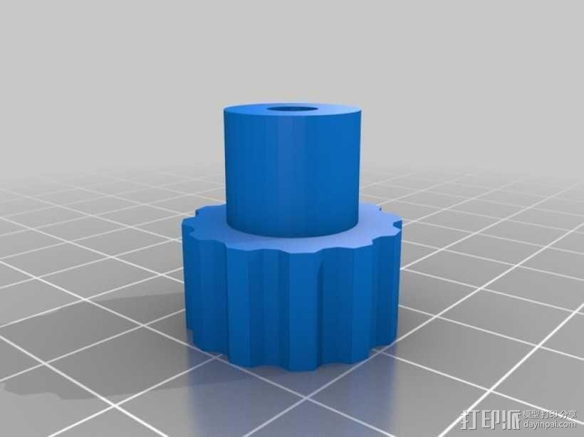 望远镜照相机架 3D模型  图6