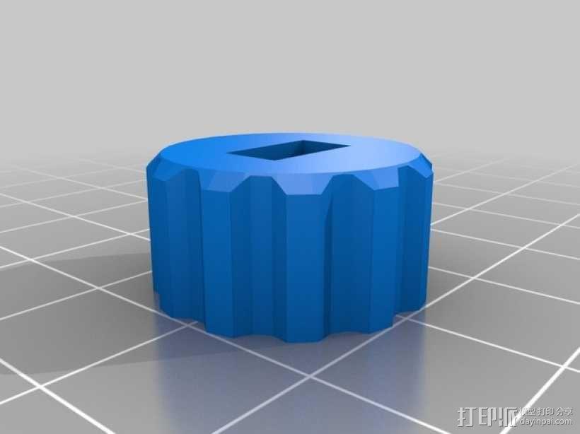 望远镜照相机架 3D模型  图7