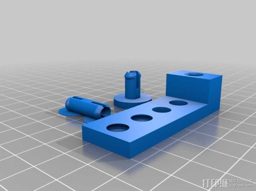 梢钉接头 3D模型  图2