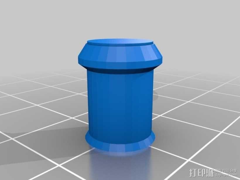 梢钉接头 3D模型  图5