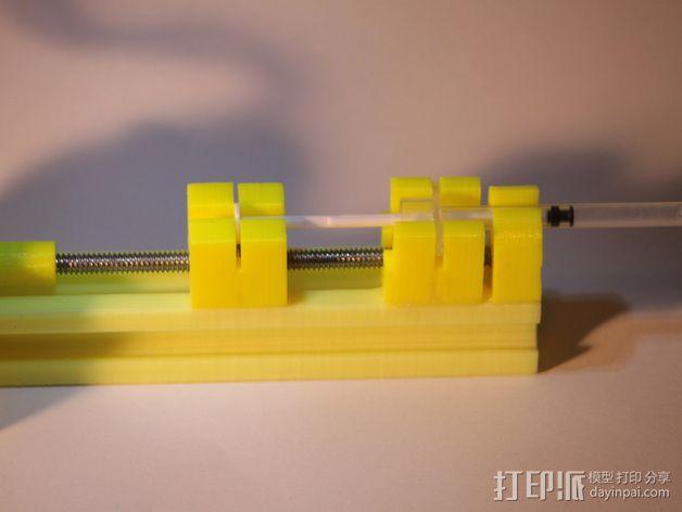 注射泵 3D模型  图4