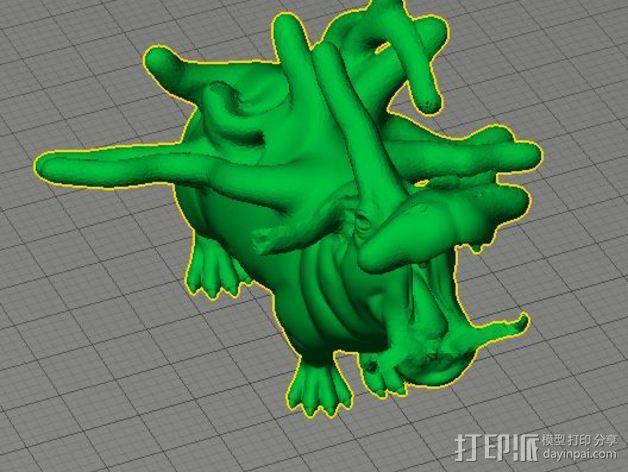 河马模型 3D模型  图4