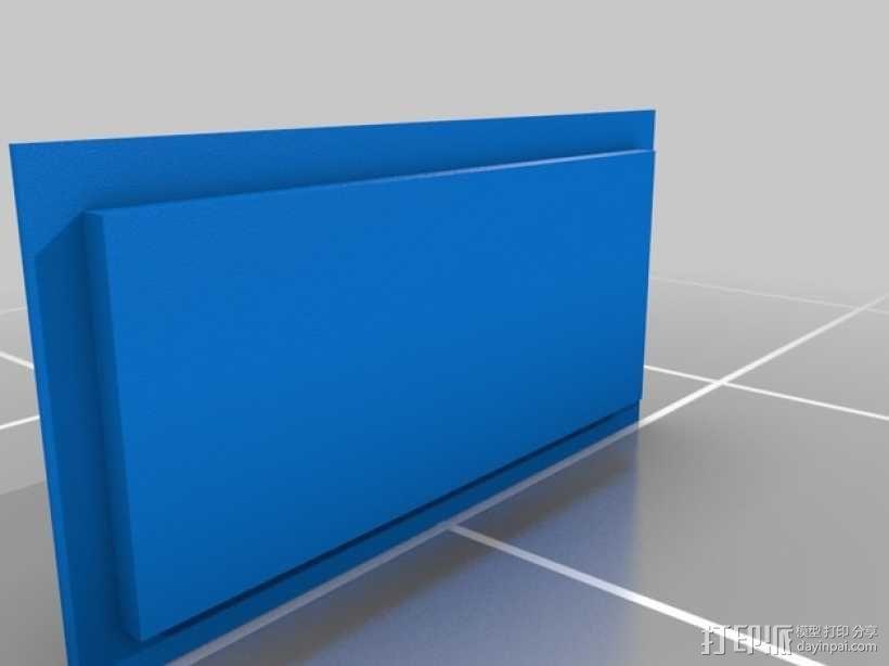 吸尘器风洞 3D模型  图1