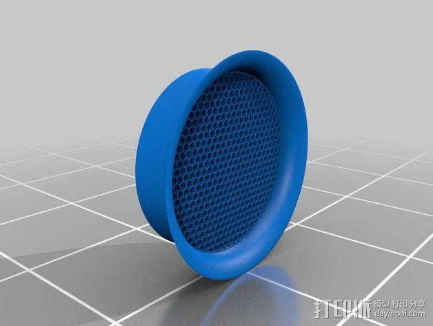 吸尘器风洞 3D模型  图2