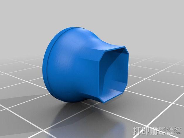 吸尘器风洞 3D模型  图3