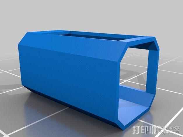吸尘器风洞 3D模型  图4