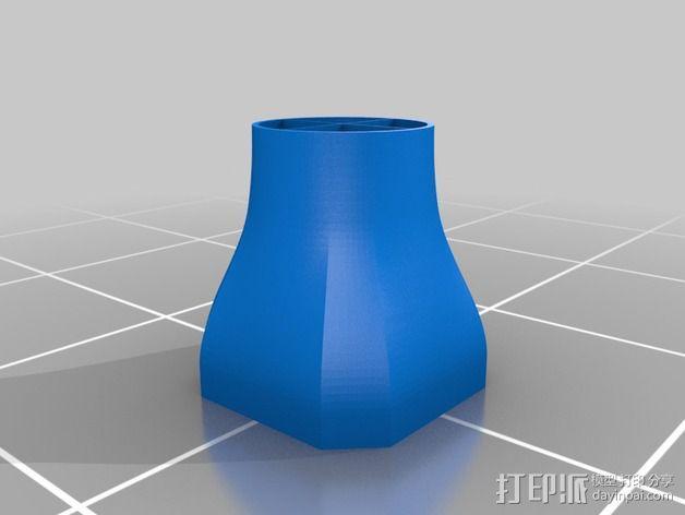 吸尘器风洞 3D模型  图5