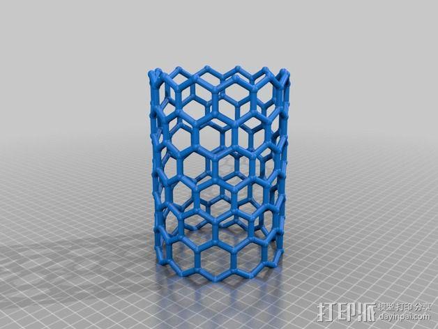 碳纳米管结构模型 3D模型  图2