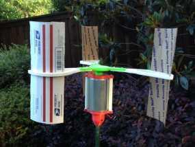 竖轴风车 垂直轴风力机 3D模型