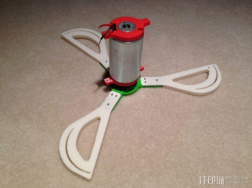 竖轴风车 垂直轴风力机 3D模型  图3