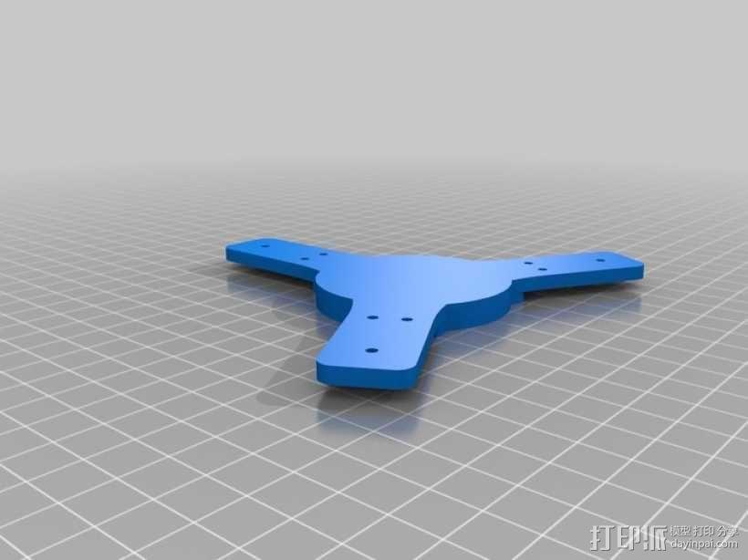 竖轴风车 垂直轴风力机 3D模型  图5