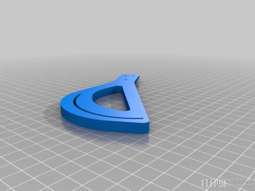 竖轴风车 垂直轴风力机 3D模型  图8