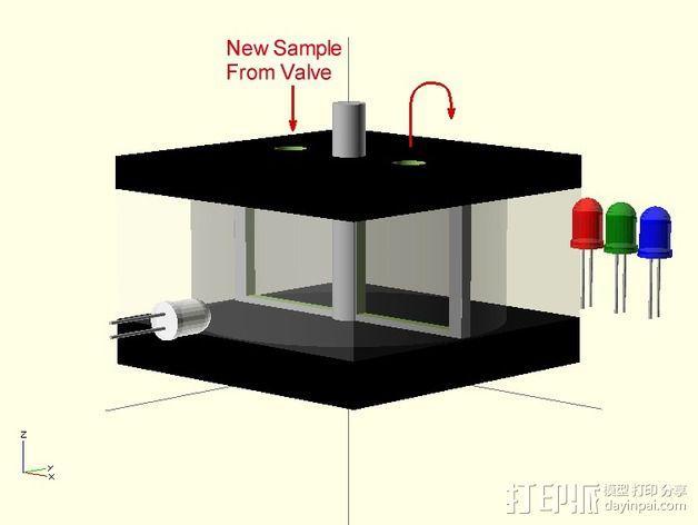 试剂机器人 3D模型  图1