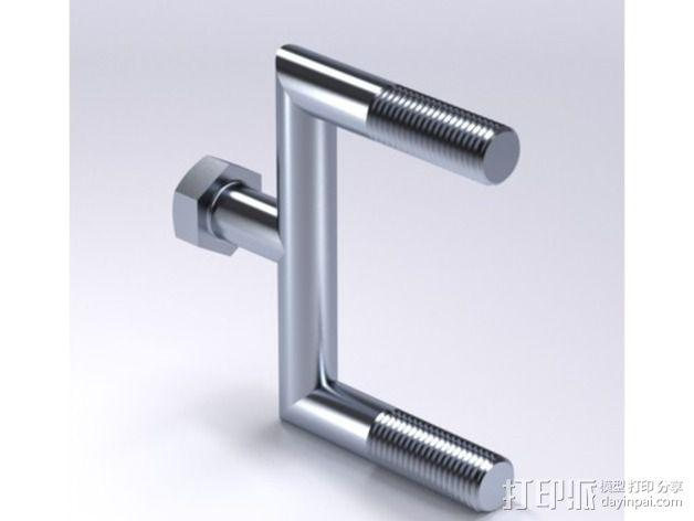 特制螺丝钉 3D模型  图1