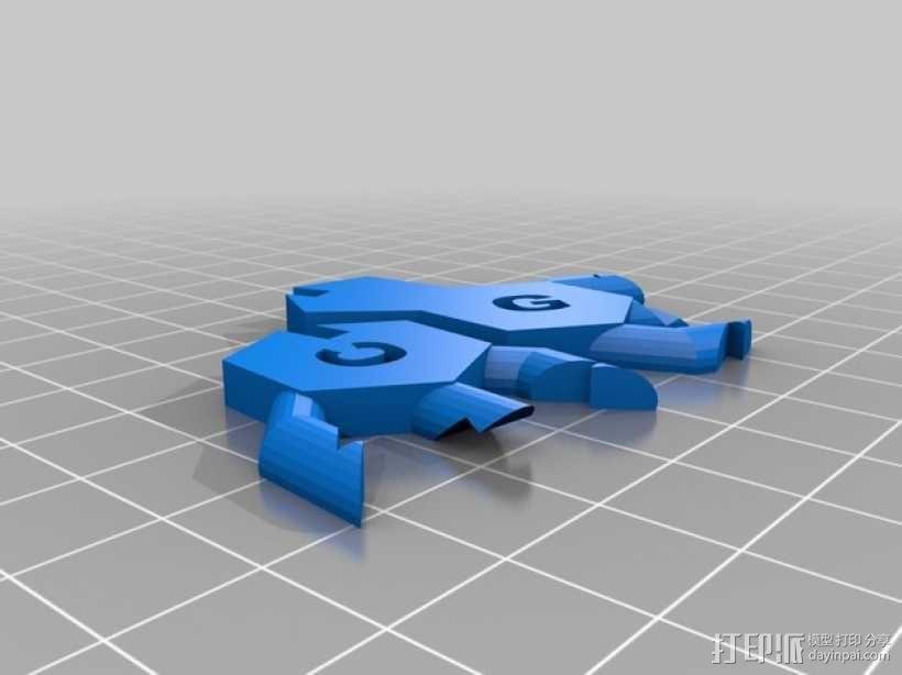 DNA 模型 3D模型  图13