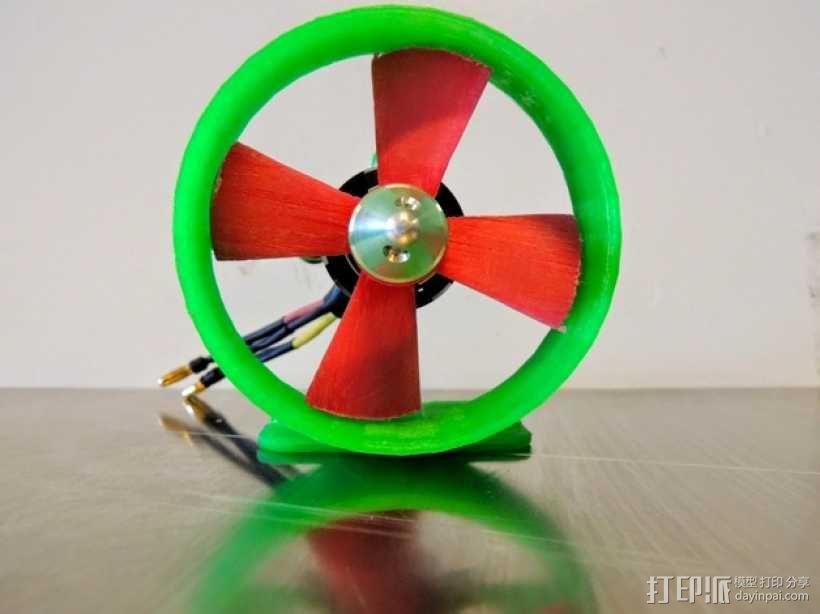 螺旋桨 螺旋桨推进器 3D模型  图1