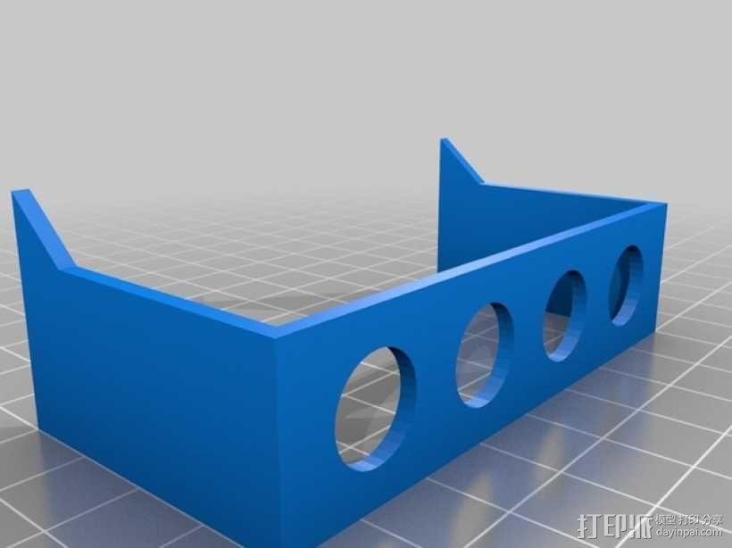 微量离心管 试管架 3D模型  图2