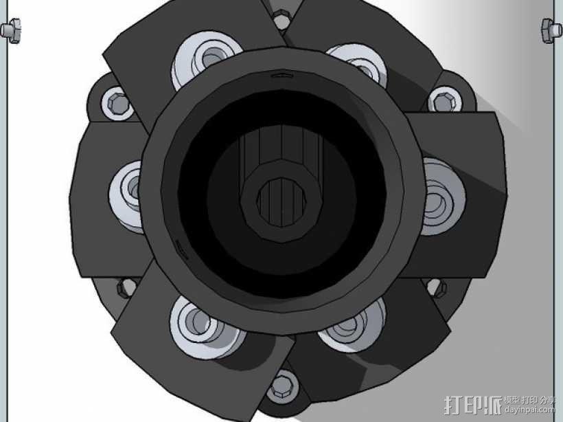 牛顿望远镜 3D模型  图3