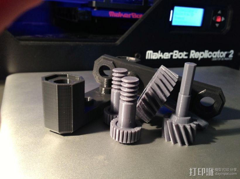 变速箱 齿轮箱 3D模型  图2