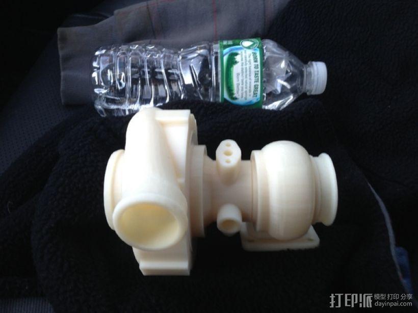 涡轮增压器 3D模型  图1