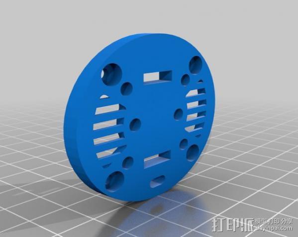 雨量器  3D模型  图2