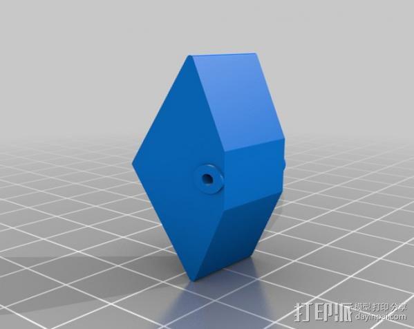 雨量器  3D模型  图3