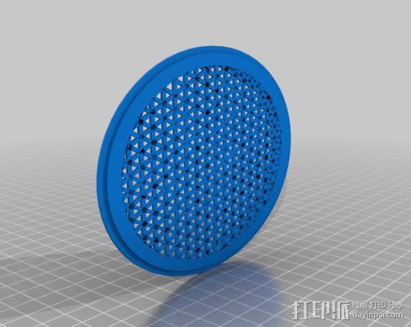 雨量器  3D模型  图10