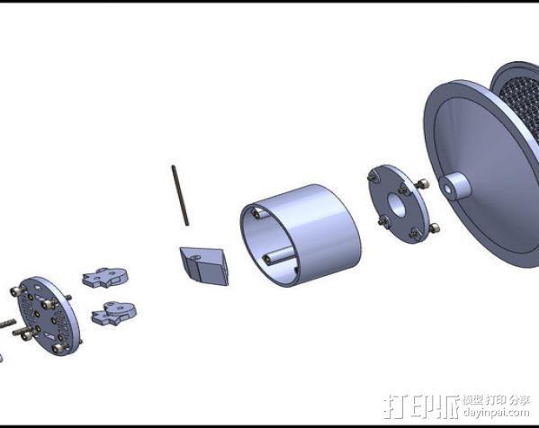 雨量器  3D模型  图13