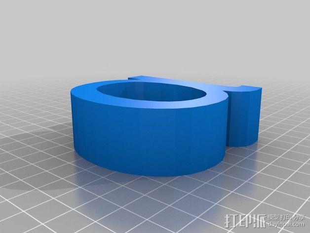 希腊字母 字母模型 3D模型  图2