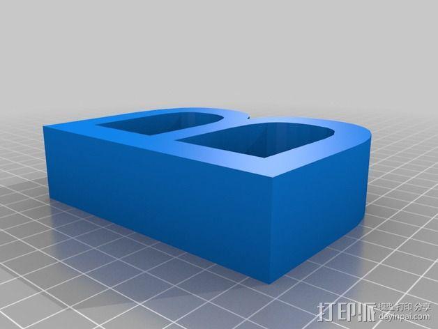 希腊字母 字母模型 3D模型  图3