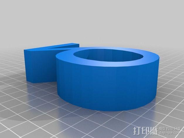 希腊字母 字母模型 3D模型  图8