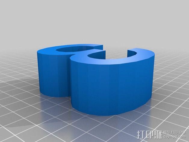 希腊字母 字母模型 3D模型  图10