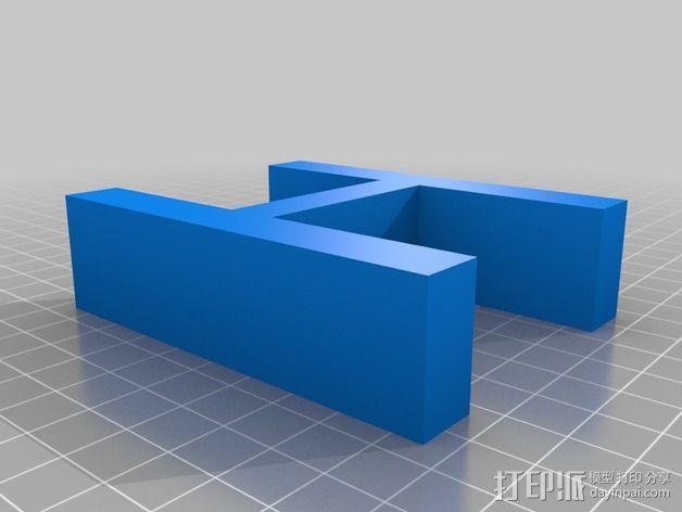 希腊字母 字母模型 3D模型  图13