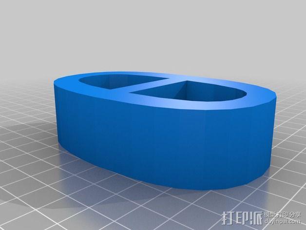 希腊字母 字母模型 3D模型  图15