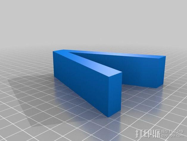希腊字母 字母模型 3D模型  图21