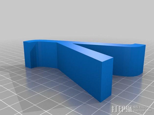 希腊字母 字母模型 3D模型  图22